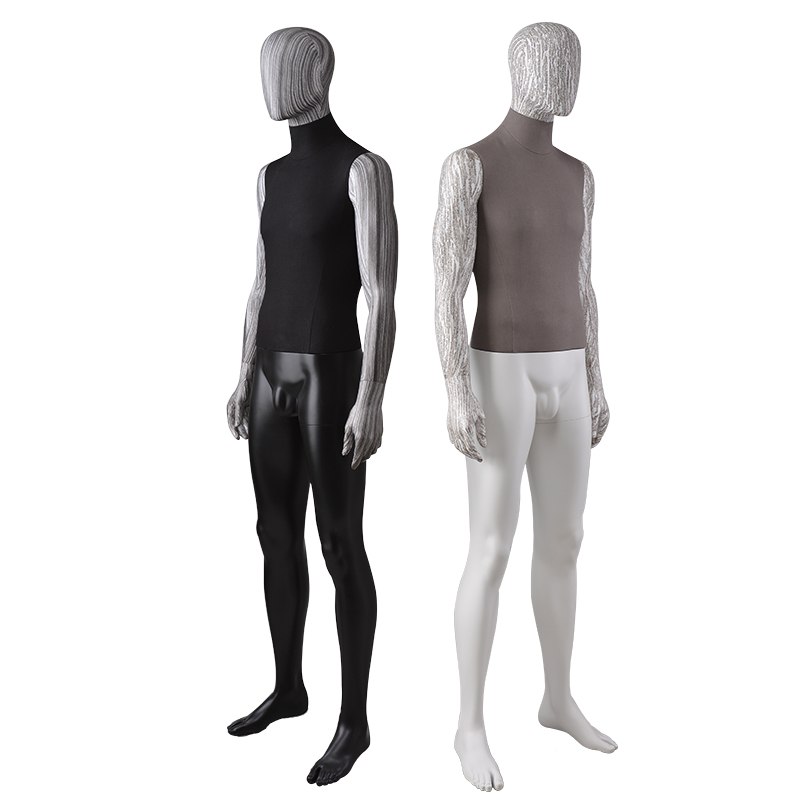 Full body fabric wrapped water transfer printing mannequin for window display(LGD))