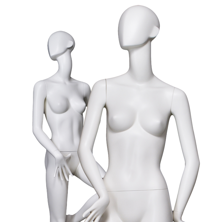 European size abs female mannequin white high quality abstract face mannequins yoga and dancing sexy pose female mannequin for display(BNF ABS Sexy Pose Female Mannequin)