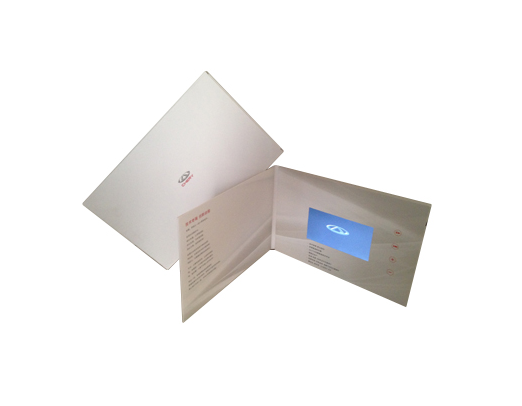 High Quality LCD Video Brochure Card