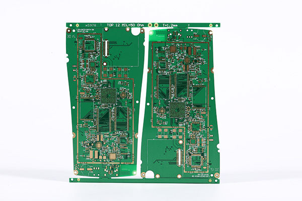10L BGA Impedance Control PCB Board for Tele communication
