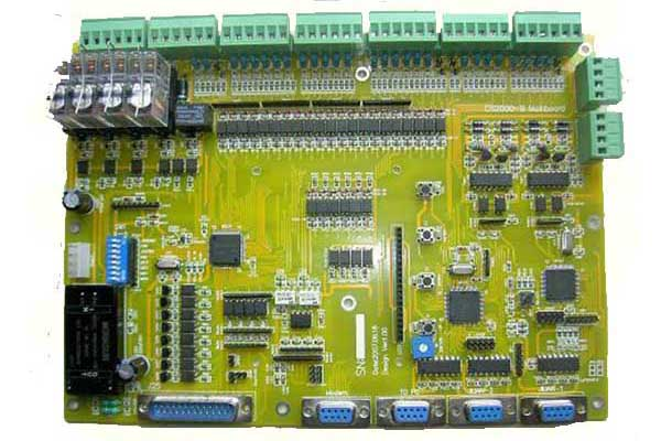 Heater control power PCBA assembly board