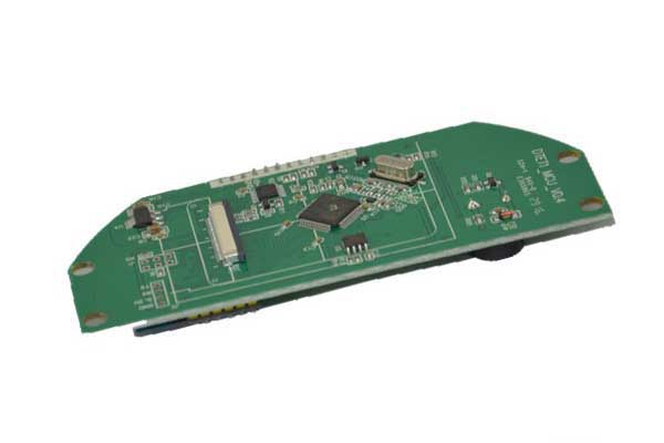 Heater control MCU pcb assembly board