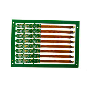 2 Layers Flex-rigid Circuit Board for Tele-communication