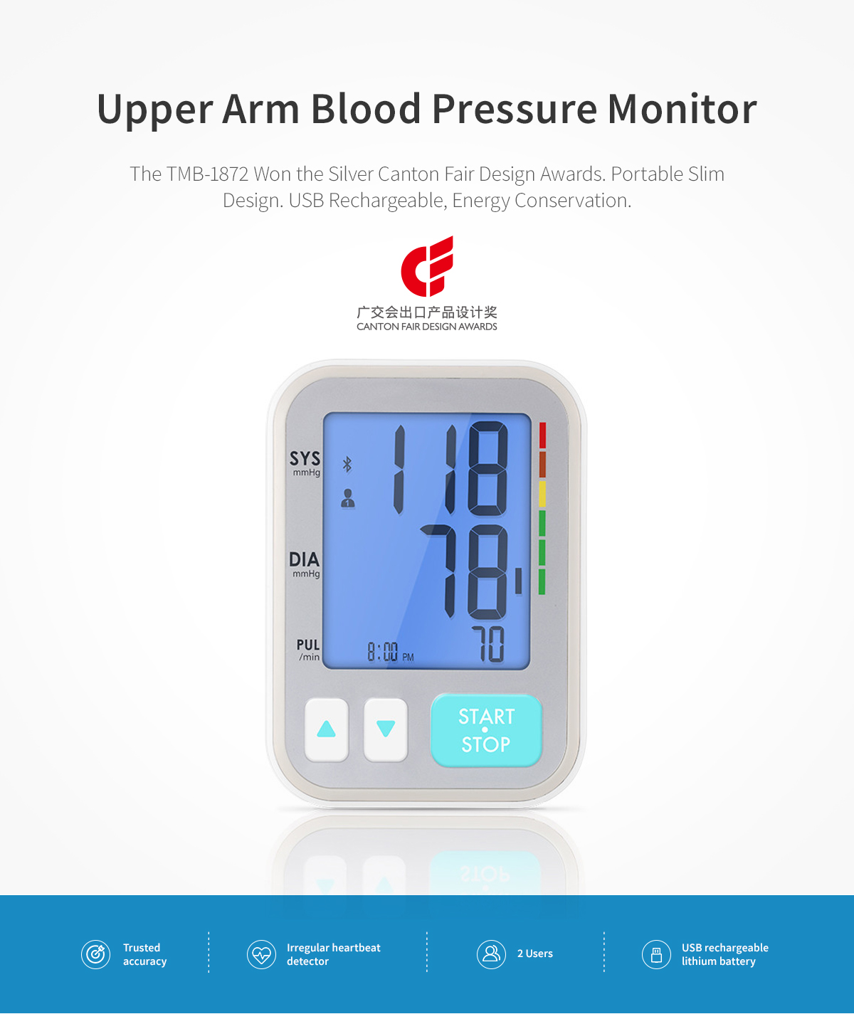 accurate blood pressure monitor