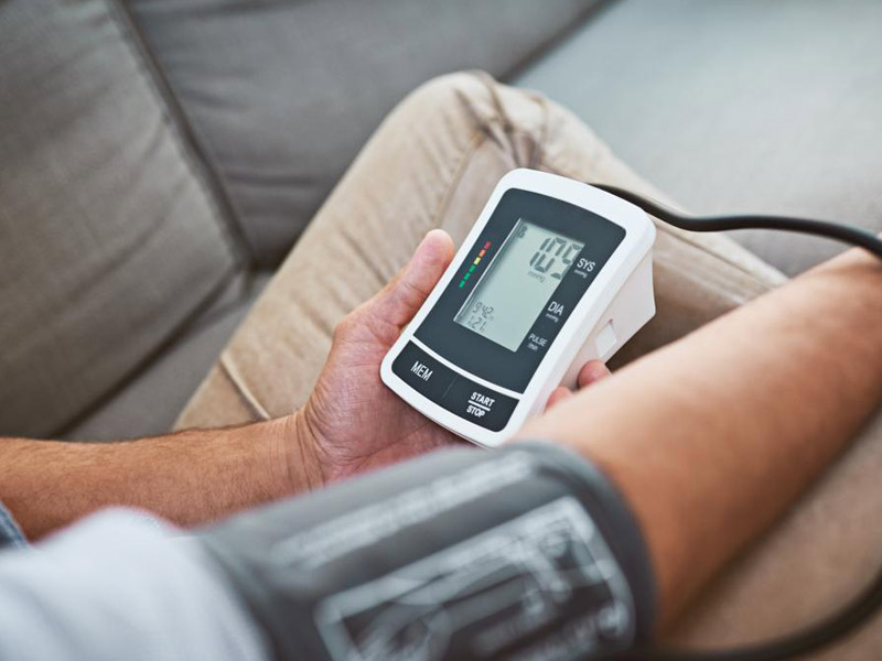 Precautions for measuring blood pressure monitor