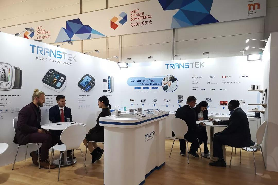 TRANSTEK Attended the MEDICA 2019 in Dusseldorf, Germany