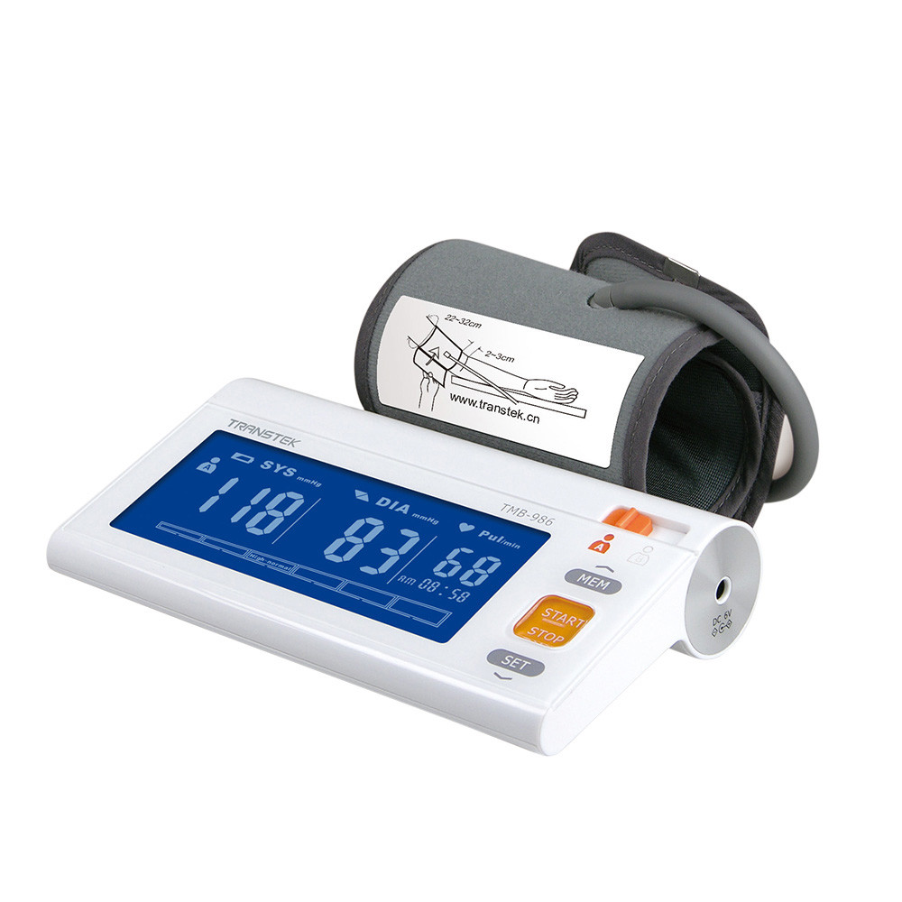 Transtek Comfortable Touch Arm Blood Pressure Monitor TMB-986