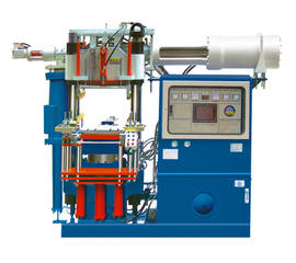What are the characteristics and advantages of the compression moulding machine ?