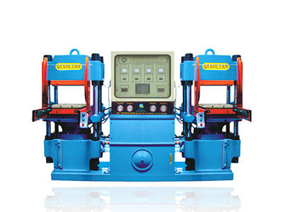 Silicone heating press molding machine with opening mold automatically