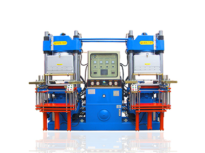 Double workstation 3RT vacuum rubber forming machine-1