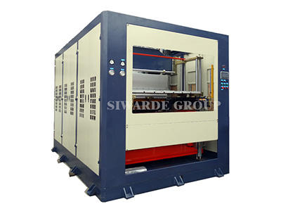 ABS film air pressure forming machine