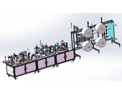 Fully Automatic KN95 Mask Machine-3