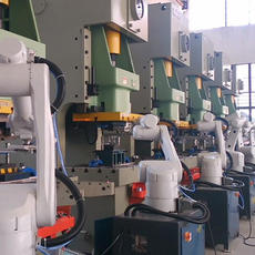 Industrial robotic automatic stamping manipulator