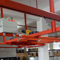 Suspended Production line overhead conveyor