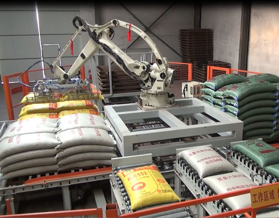 Robotic Palletizing Systems for Cartons and Bags