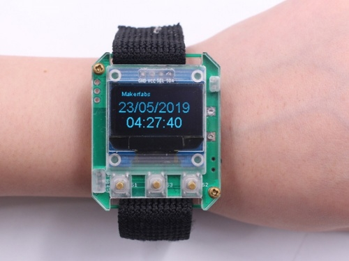 Time and Date of ESPwatch