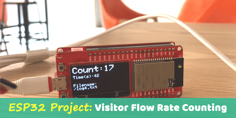 ESP32-Project-Visitor-Flow-Rate-Counter