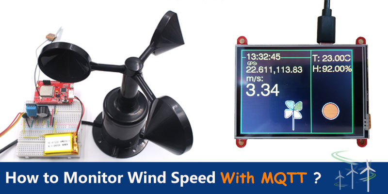 Monitor-Wind-Speed-Via-MQTT