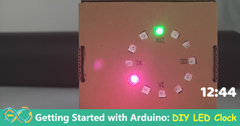 Getting-Started-With-Arduino-DIY-LED-Clock