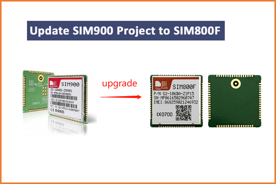 Update SIM900 to SIM800F in Your IOT Project
