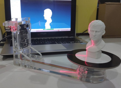 YScanner Portable 3D Scanner | The Low Cost 3D Scanner