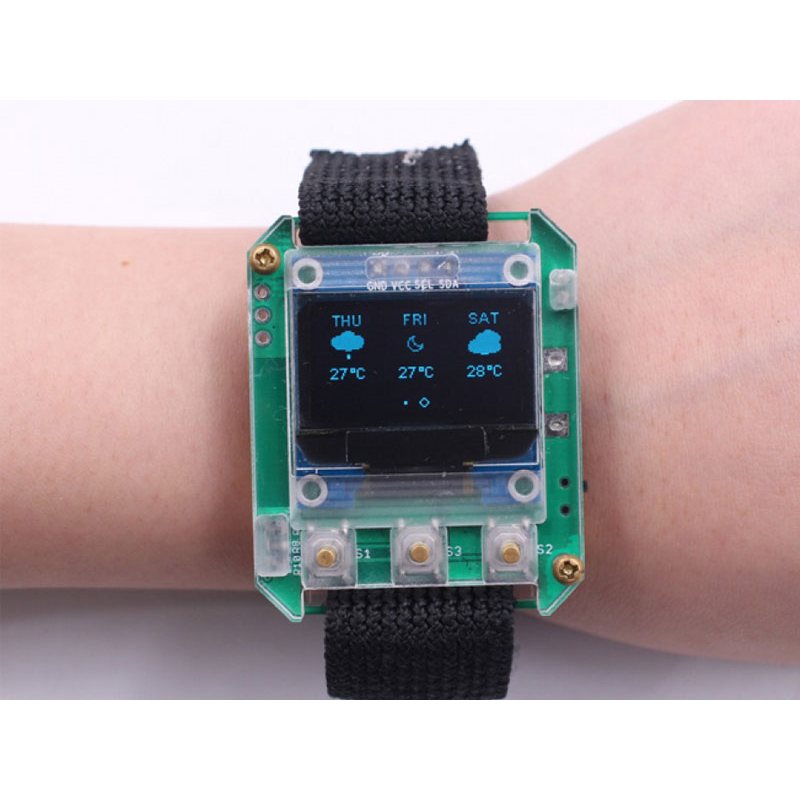 DIY ESP Smartwatch Kit