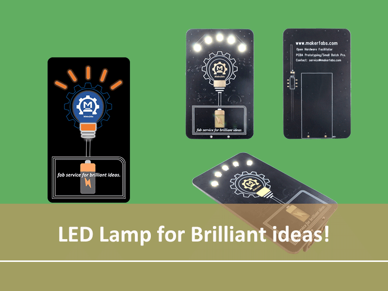 Badge: LED Lamp for Brilliant Ideas