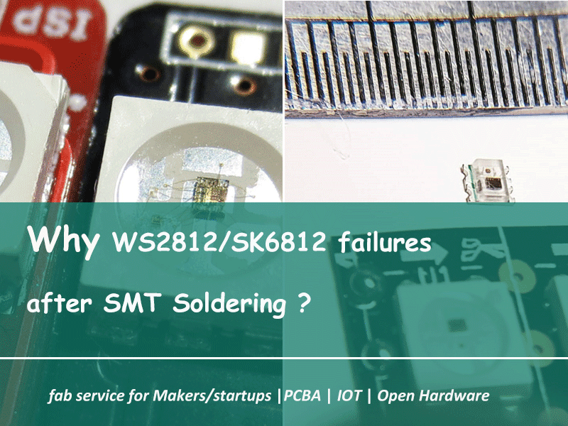 Why WS2812 SK6812 Failures after SMT Soldering