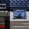 MicroPython Program: Update COVID-19 Data in Real Time