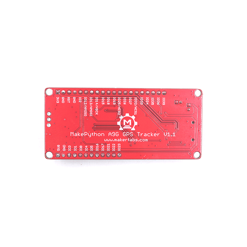 MakePython A9G GPRS/GPS Expansion Board