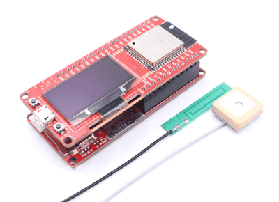 WIFI BLE GPRS GPS 4 in 1 Kit Based on ESP32 and A9G