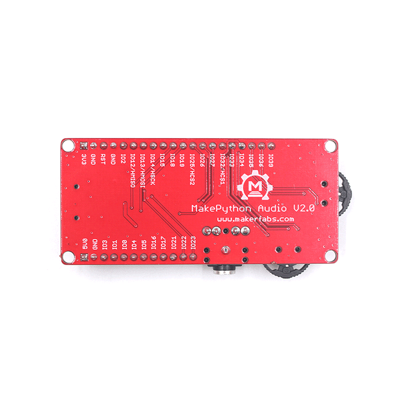 MakePython Audio Expansion Board