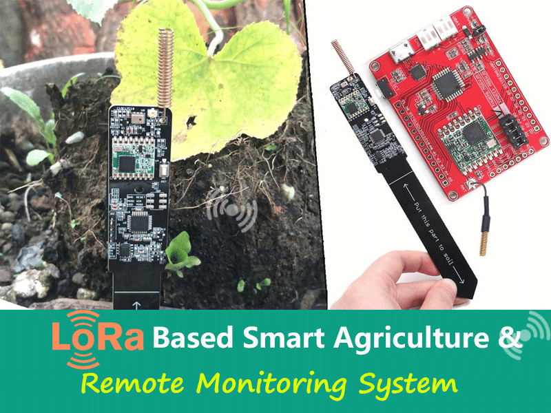 Lora Smart Agriculture & Remote Monitoring System