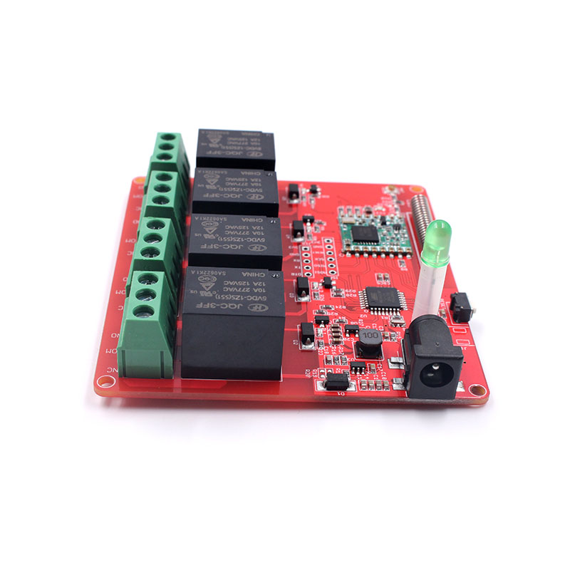 4-Channel Lora Relay 10A Module