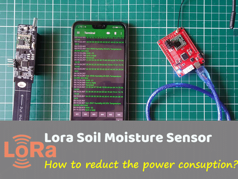 Reduce the Lora Sensor Power Consumption