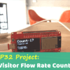 ESP32 Project: Visitor Flow Rate Counter