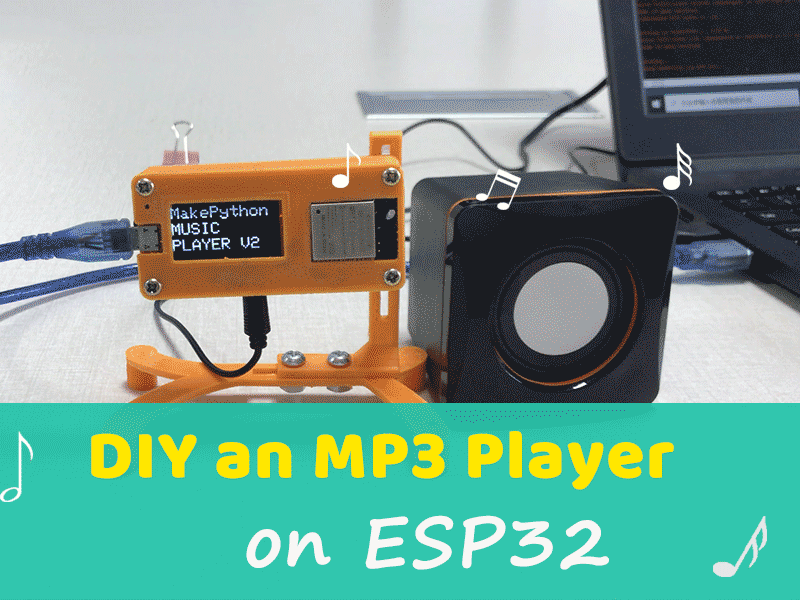 DIY MP3 Player with ESP32 - Audio Player