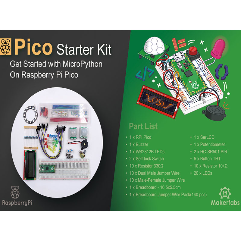 Raspberry Pi Pico Starter Kit
