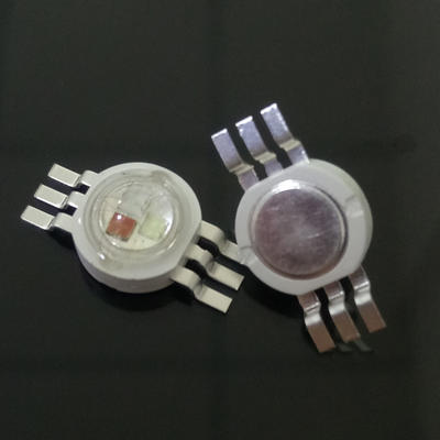 1-3W chip 3 in 1 full color high power LED