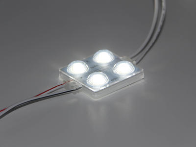4 Chips DC Injection Color Changing RGB 2835 LED Module for Sale