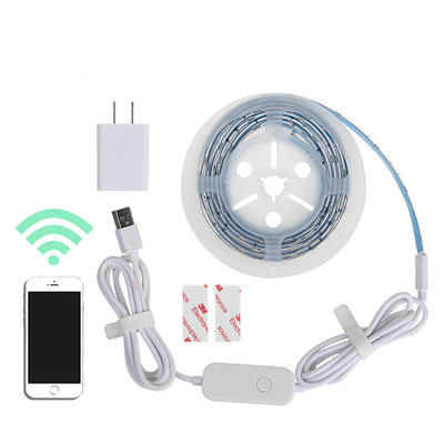 DC5V USB led 5050RGB flexible strip light waterproof with WIFI Controller
