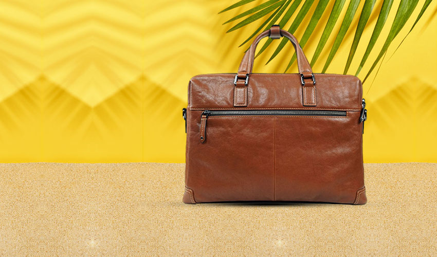 What should I do if the leather handbags are moldy due to wet weather?