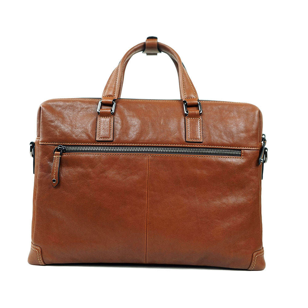 Leather Bag Manufacture Men Shell OEM Discount Leather Briefcases 6858-1B