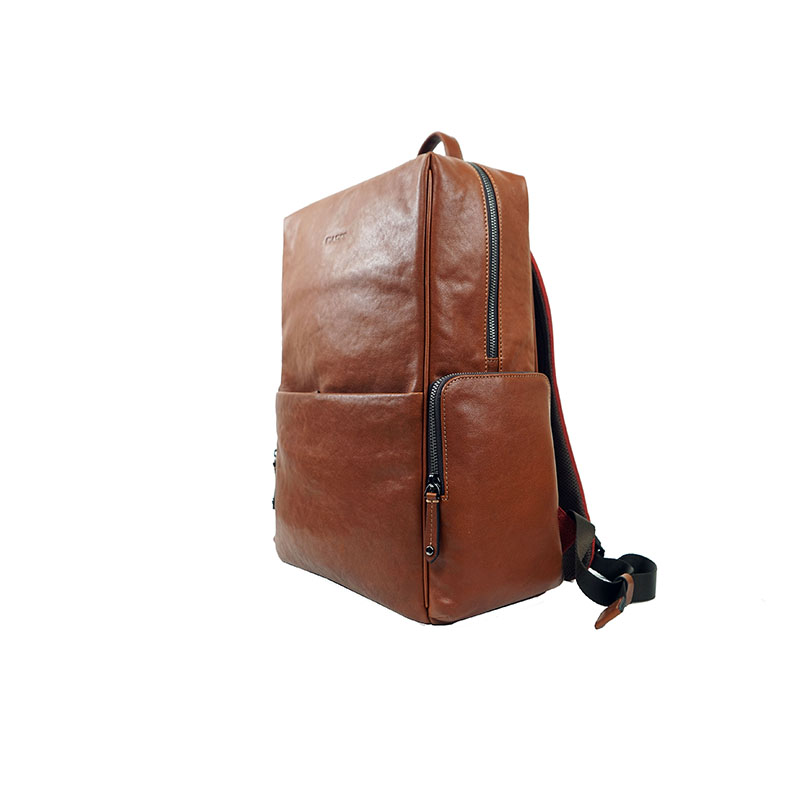 Customized Mens Leather Backpacks Genuine Leather Travel Bags 9941-1A -3