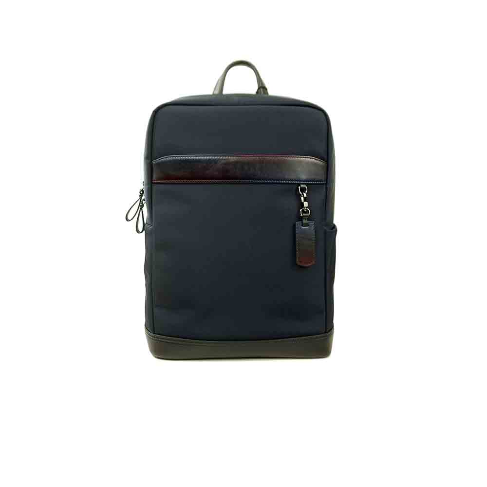 High Quality Canvas Stitching Backpack Wholesale Mens Leather Backpacks