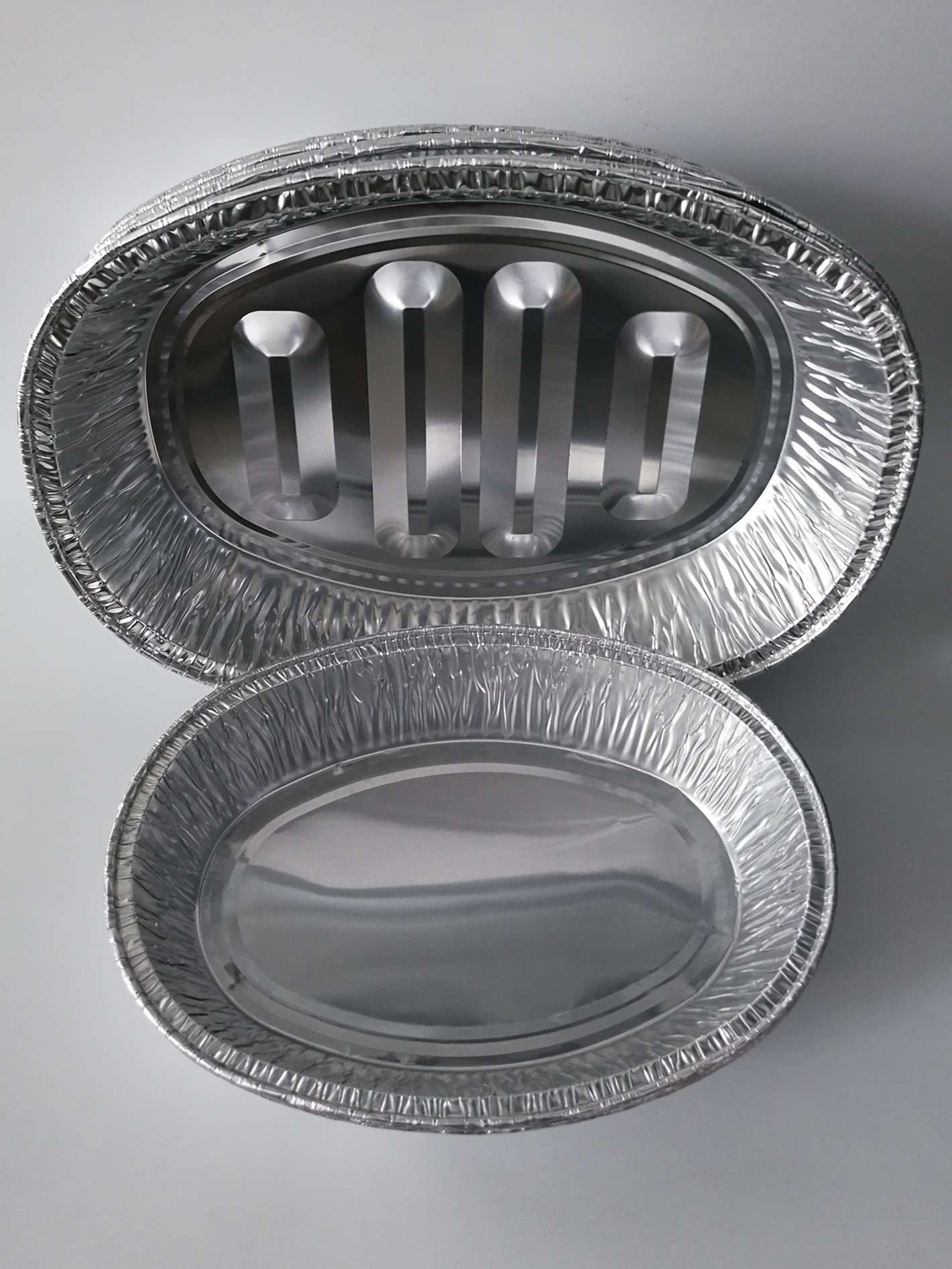 FB1162 //Oval-B 7800ml Roasting Chicken pan //Aluminum Foil oval foil containers