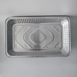 FB3353D 8700ml Rectangular Foil Trays and large capacity aluminum foil baking tray