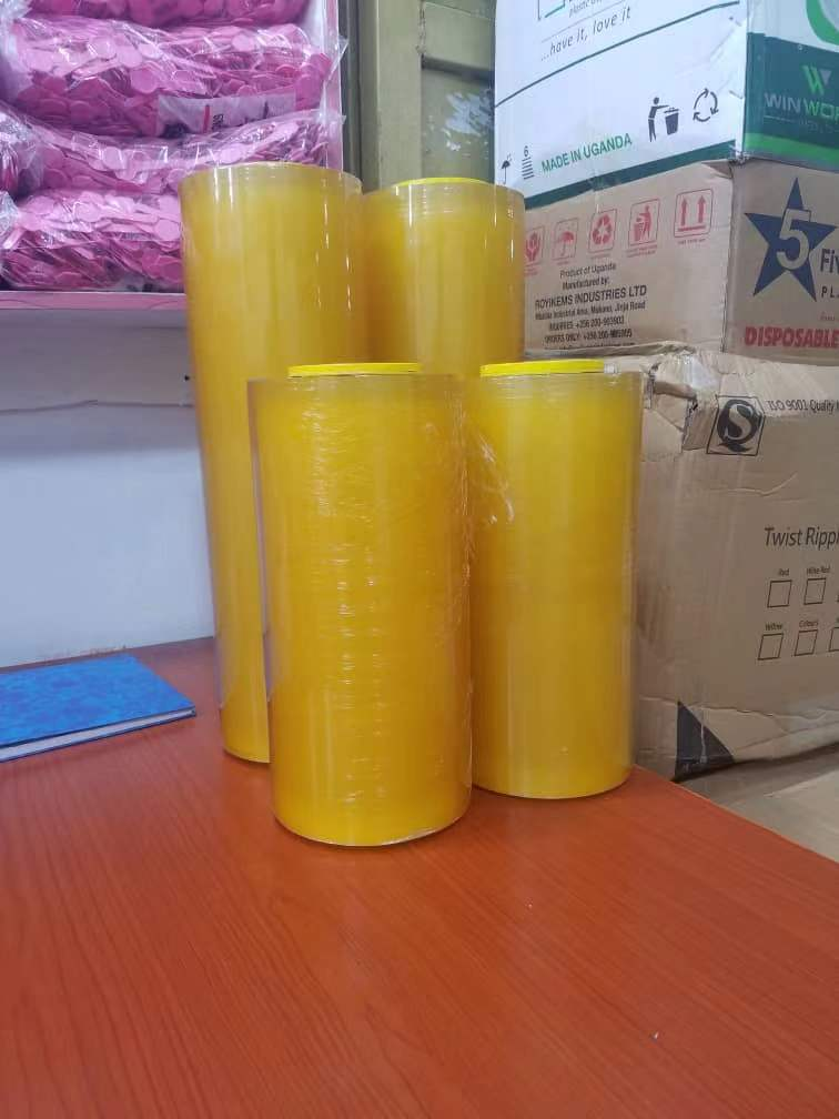 PVC/PE Cling Film Cling Wrap100m-2000m length or customized //30cm,45cm width 25-50cm customized 9-23mic thickness