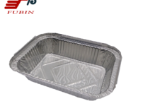 FB1419 650ml Rectangular Aluminium Foil Container and large capacity aluminum foil baking tray