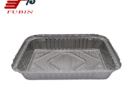 FB1621 750ml Rectangular Aluminium Foil Container
